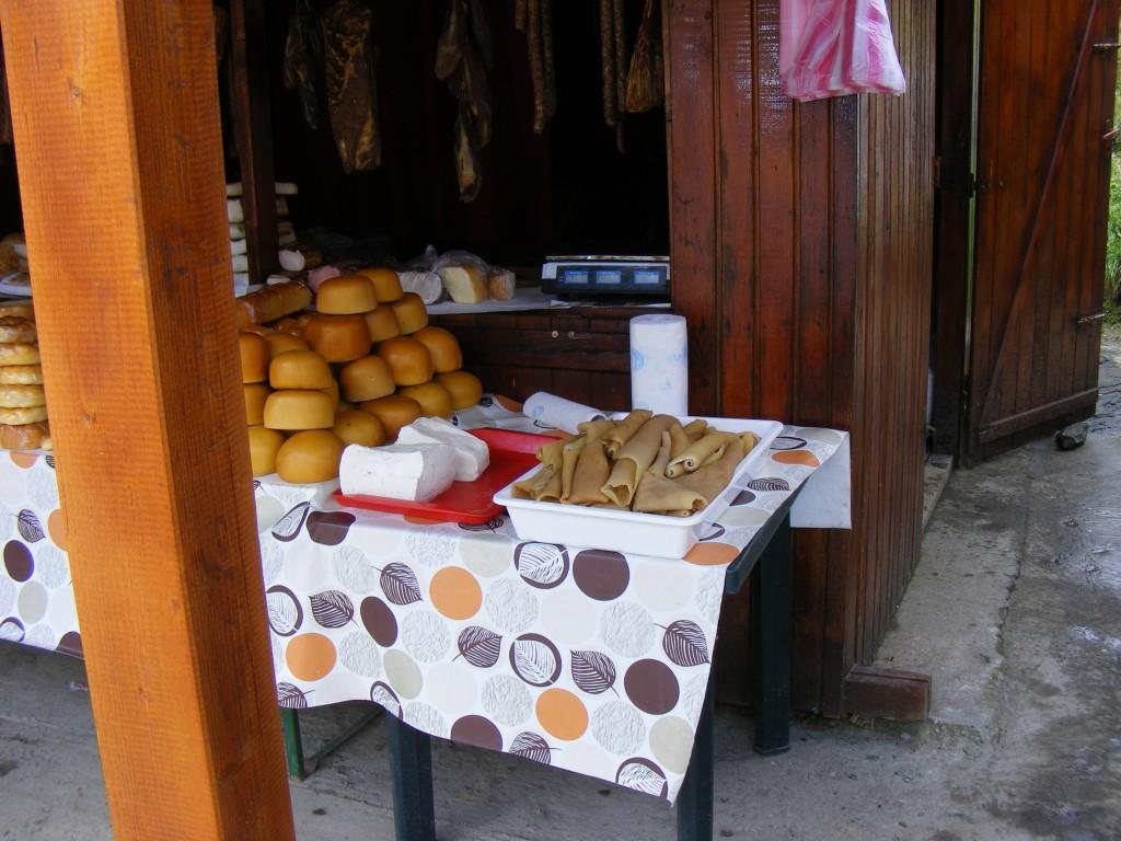 Сергиите с домашно приготвена храна