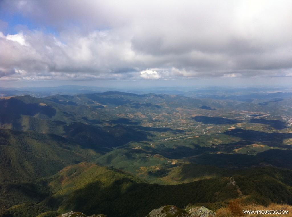 Изглед от върха Марагидик