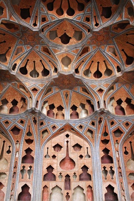 """Музикална стая """"Ali Qapu"""" , Исхафан, Иран"""