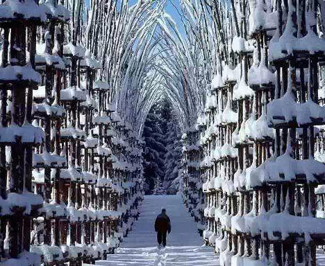 Снежната катедрала в Норвегия