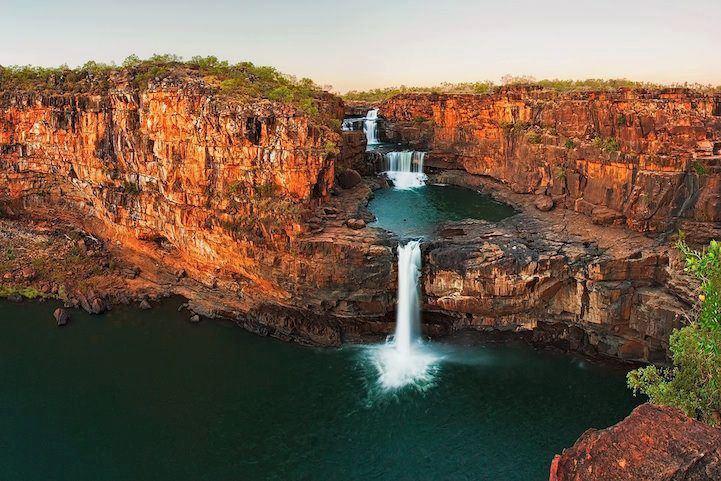 Водопадът Tiered, Австралия