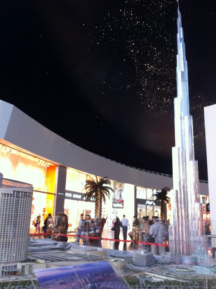 Пазаруване в Дубай Мол