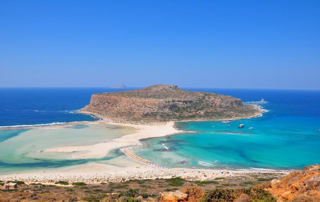 Плажът Балос (Balos Beach) на остров Крит