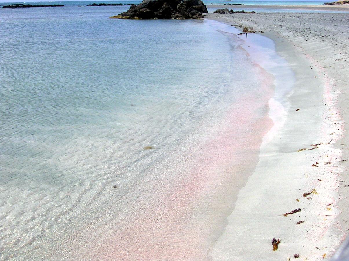 Плажът Елафониси (Elafonisi Beach) на остров Елафониси