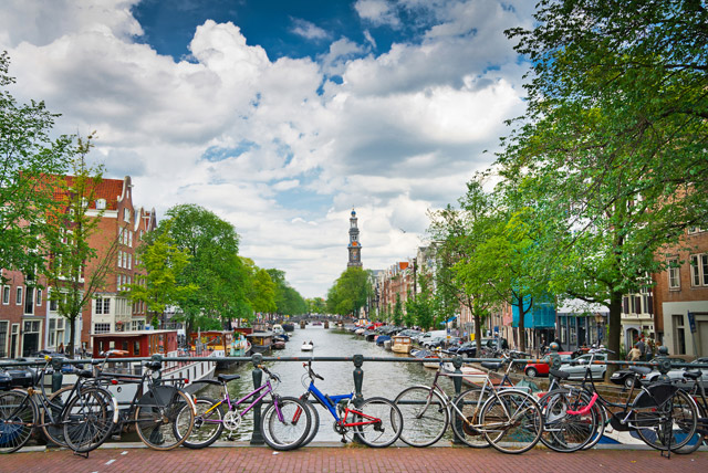 Колоездене в Амстердам