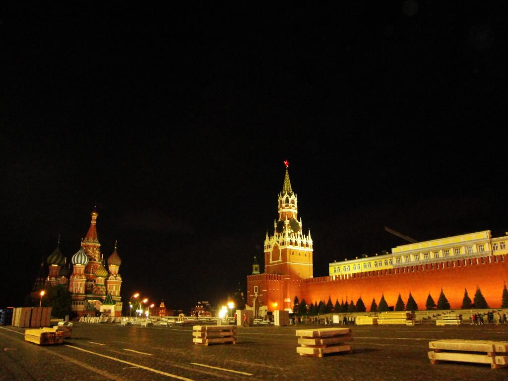 Червеният площад, Русия