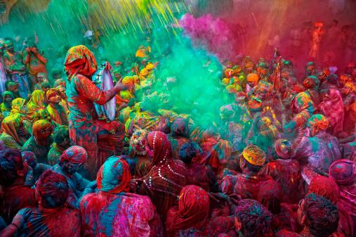 Фестивалът на цветовете, Индия
