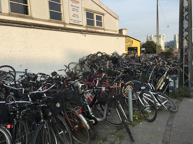 колелата в Копенхаген