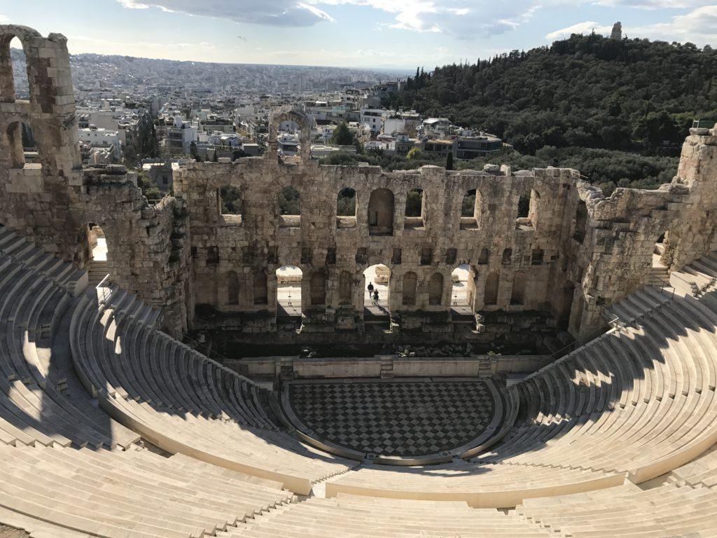 Амфитеатъра Одеон