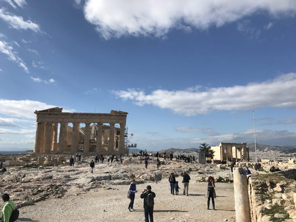 гледка от Акропола