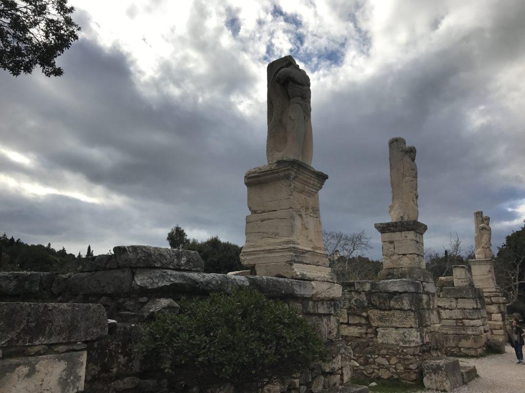 Римския форум с кулата на ветровете