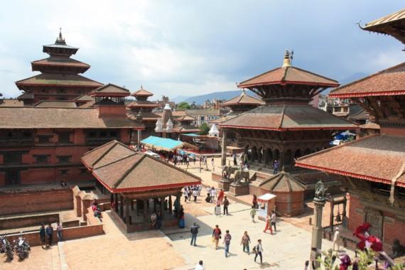 Обиколка с колело в долината Катманду